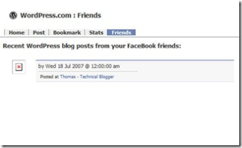 Facebook-WordPressApp-Friends